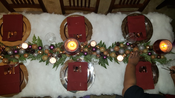 Deck The Halls Themed Holiday Celebration Decor